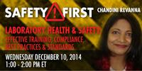 Webinar - Laboratory Health and Safety: Effective Training, Compliance, Best Practices and Standards