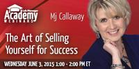 Webinar: The Art of Selling Yourself for Success