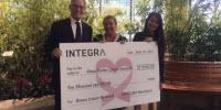 INTEGRA Announces $10,000 Contribution to Dana-Farber Cancer Institute