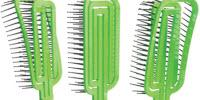 Researchers Devise Easy-to-Clean Hairbrush