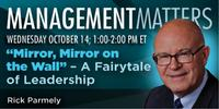 "Webinar: ""Mirror, Mirror on the Wall"" – A Fairytale of Leadership"