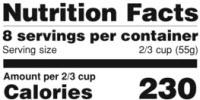 Food Labeling Intervention Increases Sales of Healthy Foods
