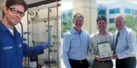 Chemistry Department Honored by San Diego County for Water Conservation Efforts in the Lab