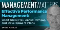 Webinar - Effective Performance Management: Smart Objectives, Annual Reviews, and Development Plans