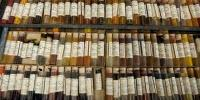Researchers Release First Chemical Map of Dyes from Historic Dye Library
