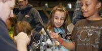 Can Early Experiences with Computers, Robots Increase STEM Interest among Young Girls?