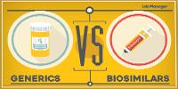 Generics vs. Biosimilars Infographic