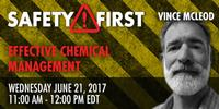 Webinar: Effective Chemical Management