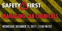 Managing Lab Chemicals
