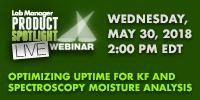 Optimizing Uptime for KF and Spectroscopy Moisture Analysis