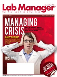 Managing Crisis Magazine Issue Cover
