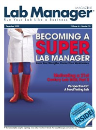 Becoming a Super Lab Manager Magazine Issue Cover
