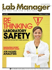 ReThinking Laboratory Safety Magazine Issue Cover