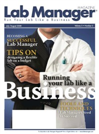 Running Your Lab Like a Business Magazine Issue Cover