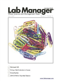 Web-based LIMS Magazine Issue Cover