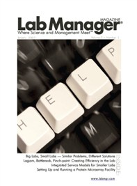Big Labs, Small Labs Magazine Issue Cover