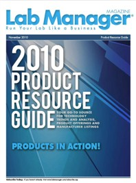 2010 Product Resource Guide Magazine Issue Cover
