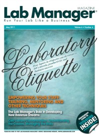 Laboratory Etiquette Magazine Issue Cover