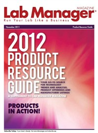 2012 Product Resource Guide Magazine Issue Cover