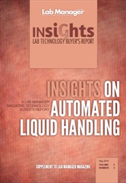 Insights on Automated Liquid Handling Magazine Issue Cover