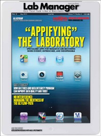 Appifying the Laboratory Magazine Issue Cover
