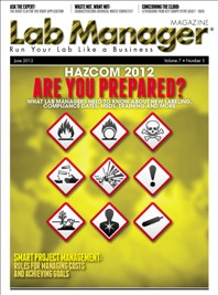 Hazcom 2012: Are You Prepared? Magazine Issue Cover