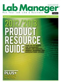 2012/2013 Product Resource Guide Magazine Issue Cover