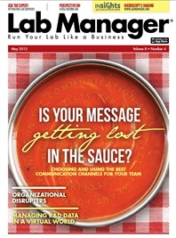 Is Your Message Getting Lost in the Sauce? Magazine Issue Cover