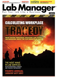 Calculating Workplace Tragedy Magazine Issue Cover