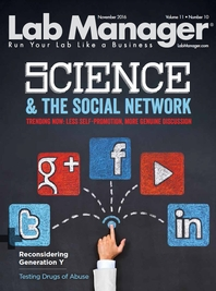 Science & the Social Network Magazine Issue Cover