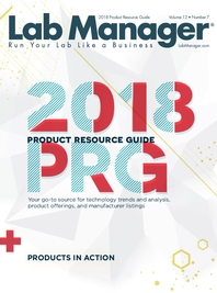 2018 Product Resource Guide Magazine Issue Cover