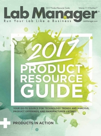 2017 Product Resource Guide Magazine Issue Cover
