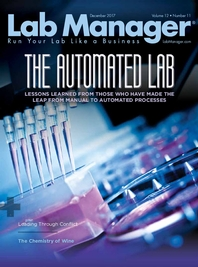 The Automated Lab Magazine Issue Cover