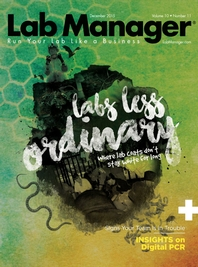 Labs Less Ordinary Magazine Issue Cover
