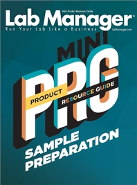 Sample Preparation Product Resource Guide Magazine Issue Cover