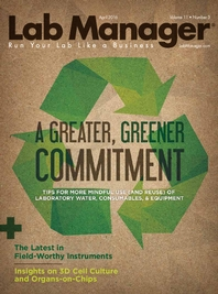 A Greater, Greener Commitment Magazine Issue Cover