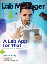 A Lab App For That Magazine Issue Cover