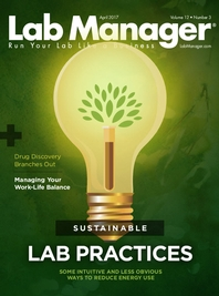 Sustainable Lab Practices Magazine Issue Cover