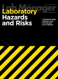 Laboratory Hazards and Risks Magazine Issue Cover