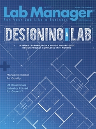Designing a Lab Magazine Issue Cover